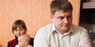 Perché il papà non riesce a giocare con il piccolo