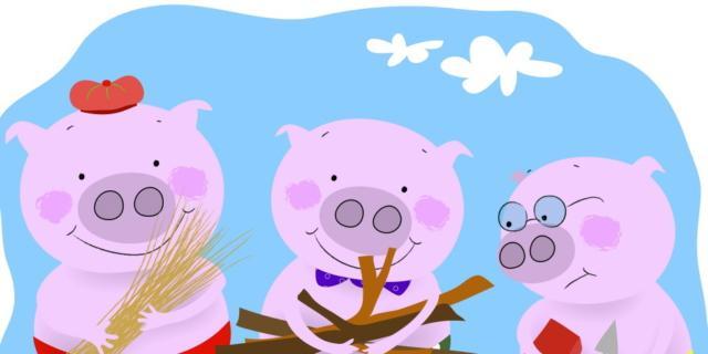 I tre porcellini come non li avete mai visti