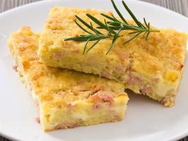Torta con patate
