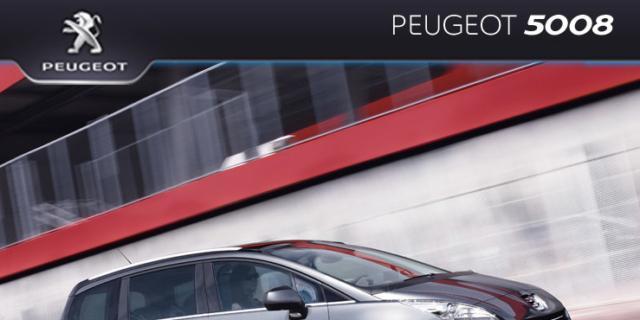 Speciale sicurezza in auto: Peugeot 5008