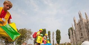 A Minitalia Leolandia i bambini scoprono il riciclo