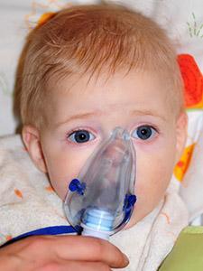 Come fare l'aerosol al bebè?