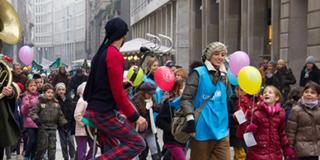 """L'Unicef promuove la """"Marcia per i Diritti"""""""