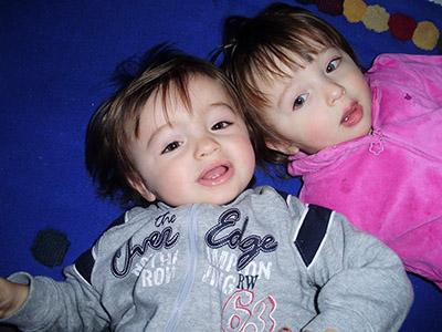 Christian e Ilaria sono i bimbi della settimana