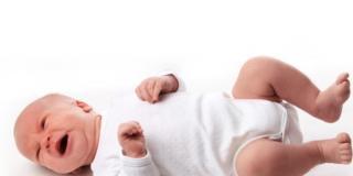Il pianto del bambino: che cosa significa?