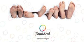 Nasce Famideal, il primo sito di coupon per famiglie con bambini