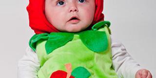 "Costume da ""mela"""