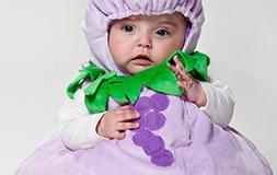 """Costume da """"uva"""""""