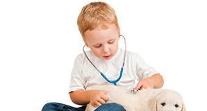 Riabilitazione bambini: c'è un allenatore a 4 zampe per i piccoli