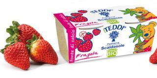 Yogurt Bio Fragole Teddi
