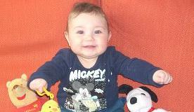 Emanuele è il bimbo della settimana