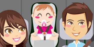 10 consigli alla guida quando in auto c'è un neonato