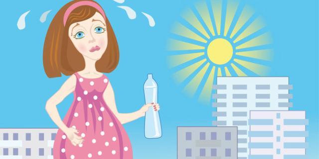 Perch la sudorazione diventa eccessiva in gravidanza - Bagno caldo in gravidanza ...