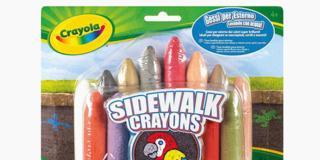 Sidewalk Crayons