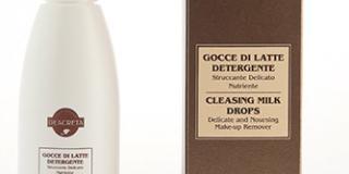 Gocce di latte detergente Struccante delicato e nutriente - Deacreta