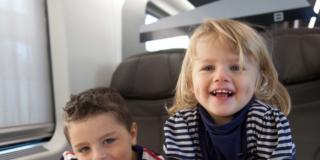 Frecciabimbo, bambini in treno a tutta salute