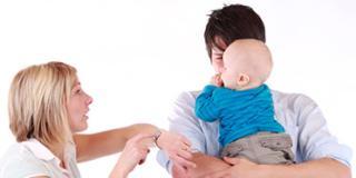 Liti in famiglia: le conseguenze sui neonati