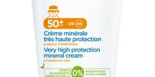 Crema minerale SPF 50+