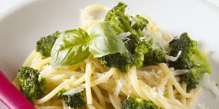 spaghettini con i broccoli
