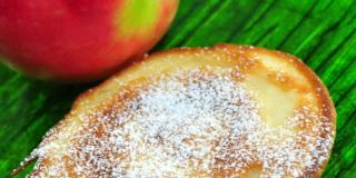 Frittatina dolce di mele