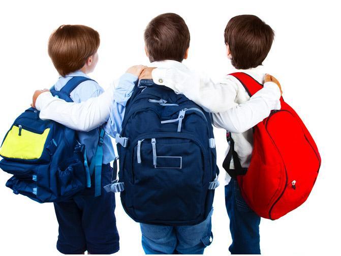 10 regole per prevenire il mal di schiena nei bambini..