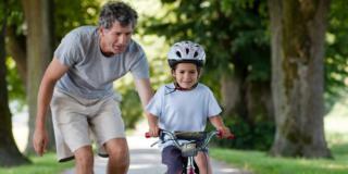 A che età può imparare ad andare in bicicletta?