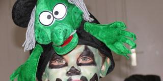 Attenzione alle reazioni allergiche nel trucco per Halloween dei bambini