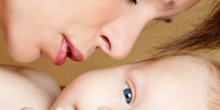 Il profumo del neonato fa innamorare la mamma