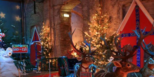 La casa di Babbo Natale è finalmente aperta