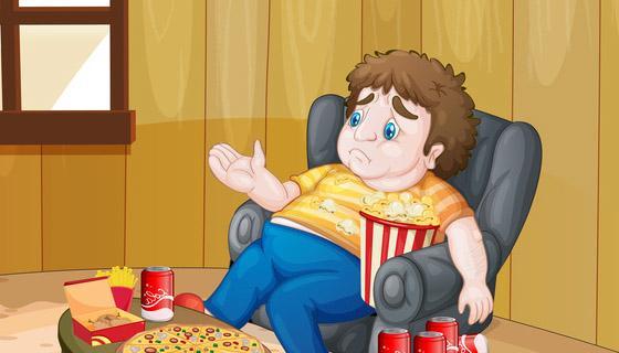 Obesità infantile: record fra i maschi under 17 e al sud