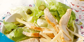 Pollo in insalata