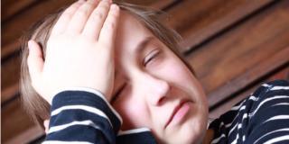 Mal di testa: colpito il 25 per cento dei ragazzi in età scolare