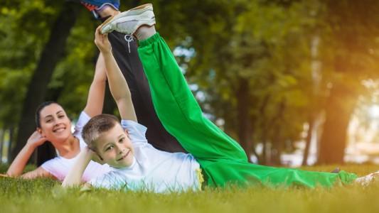 Sport dopo il parto: attiva la mamma, attivo il figlio