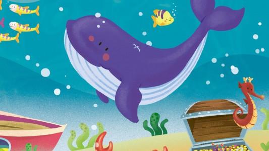 Viola, la piccola balena