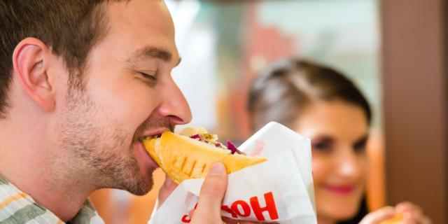 No al cibo spazzatura con l'allenamento del cervello