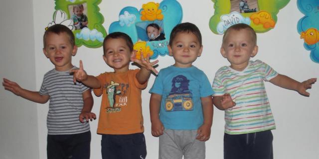 Leonard, Robert, David e Darius sono i bimbi del giorno
