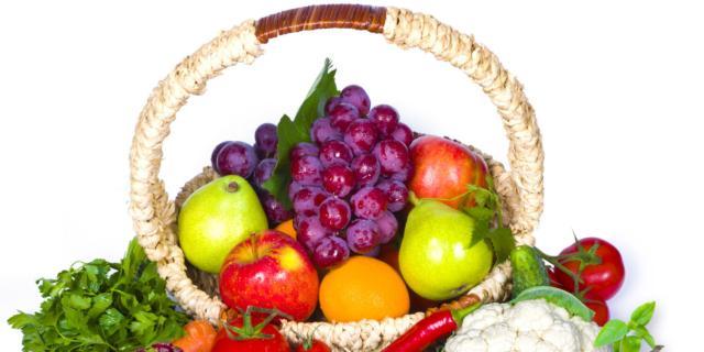 Più felici se a tavola ci sono frutta e verdura di stagione