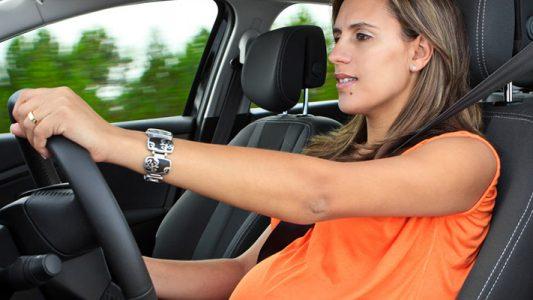cintura sicurezza auto pancione