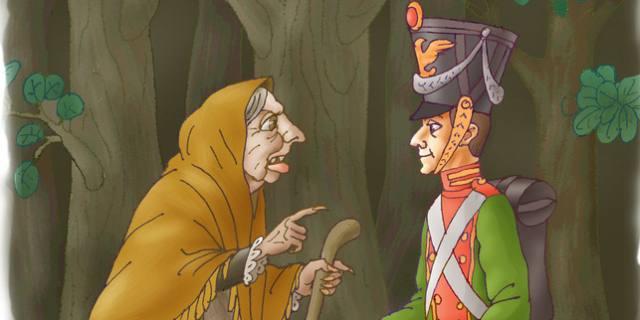 L'acciarino magico – Andersen