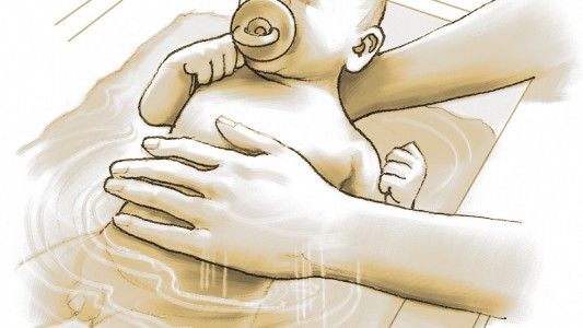 Come fare il bagnetto al neonato fase per fase