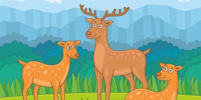 Il cerbiatto e il cervo – Esopo