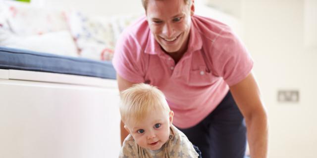 Sviluppo corporeo del neonato – 8° mese