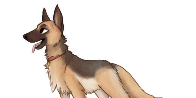 Il lupo e il cane – Esopo