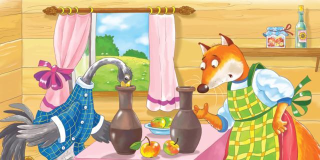 La volpe e la cicogna – Esopo