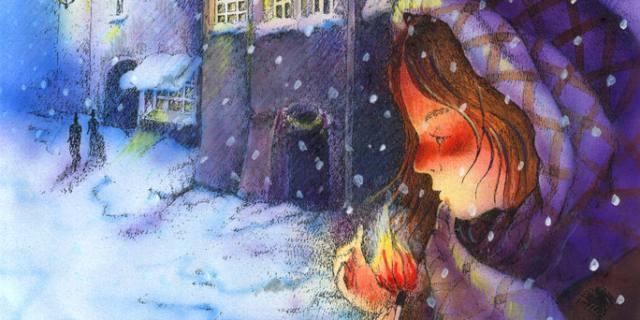La Piccola fiammiferaia – Andersen