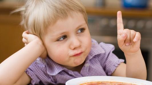 Il bambino rifiuta il cibo