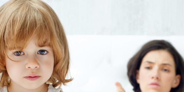 Rimproveri al bambino: quando e come