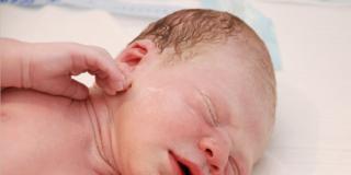 Liberazione delle vie respiratorie del neonato