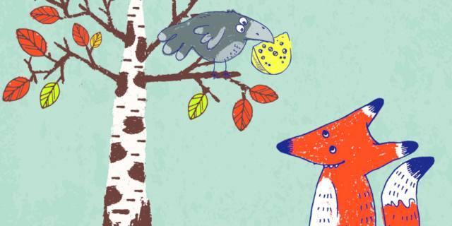La volpe e il corvo – Fedro