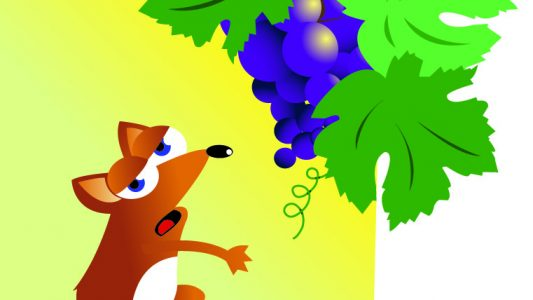 La volpe e l'uva – Fedro